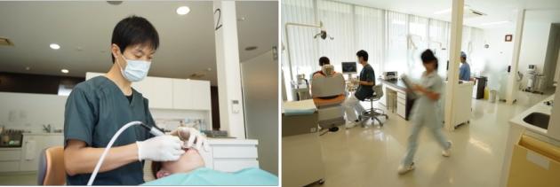 田中歯科医院 治療風景